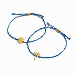 Madewell Corded Bracelet Set